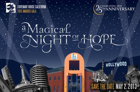covenant house california covenant house california s magical night of hope dirty and thirty