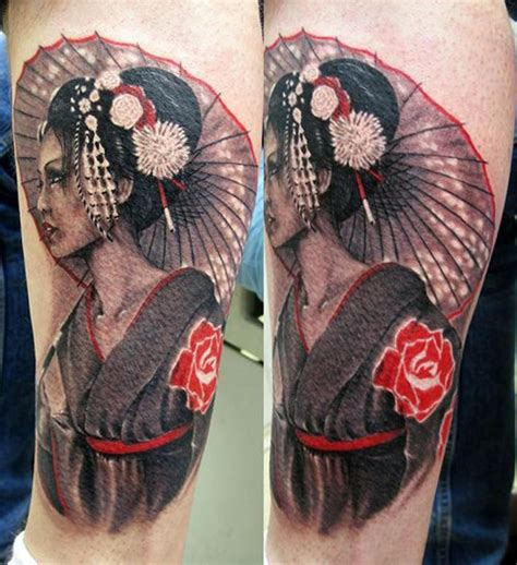 tattoo geisha leg 19 best art n tattoos images on pinterest bees honey
