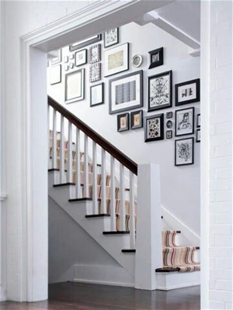 best 25 picture wall staircase ideas on stair wall decor stairwell decorating and