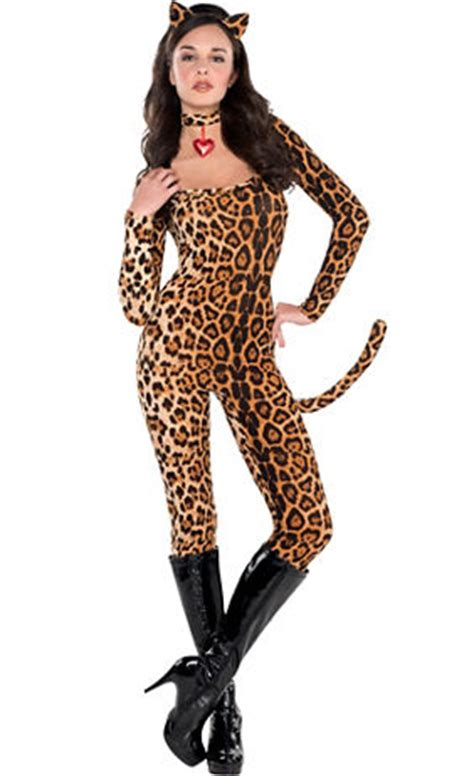 cheetah halloween costume party city women s lucious leopard costume accessories party city