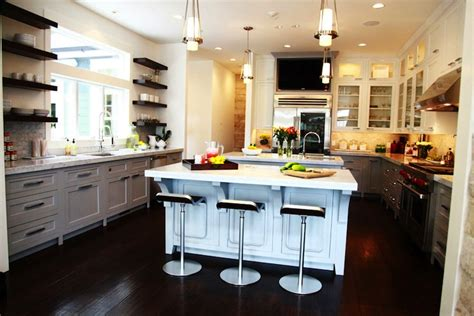 jeff lewis designs light gray kitchen cabinets contemporary kitchen