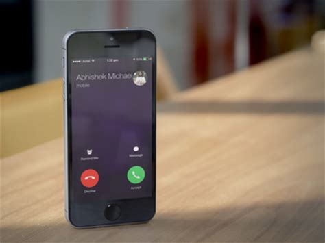 respond to calls with a text message on your iphone