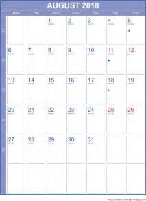 Kalender Augusti 2018 August 8 2018 Calendar Archives Free Printable Calendar