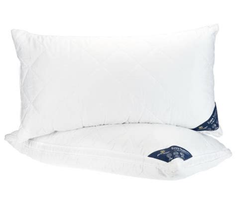 Serta Sleeper Pillows by Serta Sleeper Set Of 2 King Pillows W 1 Quot Gusset