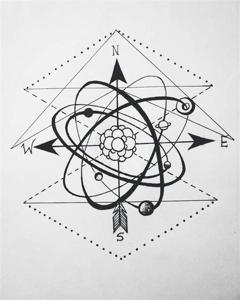 atomo dibujo tatoo 25 best ideas about atom tattoo on pinterest live