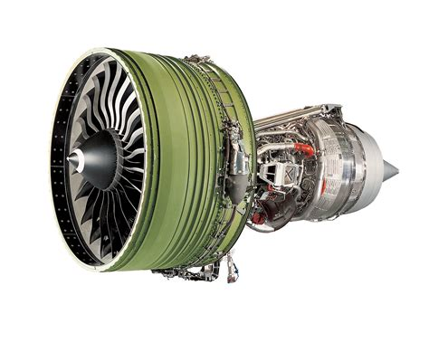Jet Engine Cross Section by Turbofan