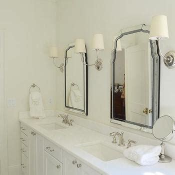 glamorous bathroom mirrors his and hers sinks design ideas