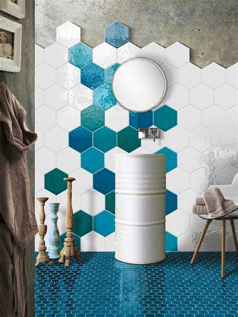 montaggio piastrelle bagno piastrelle esagonali in casa idee e suggerimenti per la posa