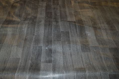 full roll of 4m x 30m grey laminate effect vinyl flooring