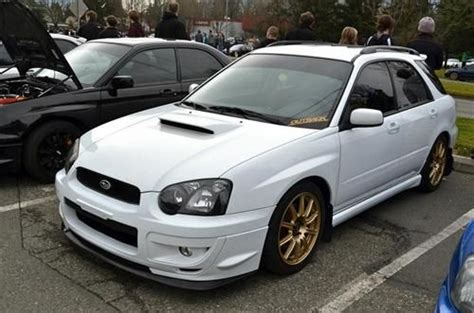 subaru rsti wagon purchase used 2004 subaru impreza wrx wagon sti front end