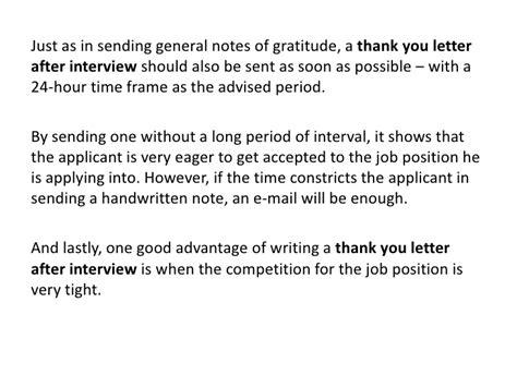 thank you letter after thank you letter after 1645