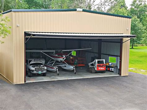 Build A Garage Plans airplane hangars are you building a hangar general steel