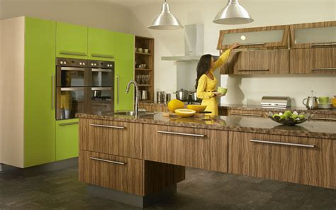 Kitchens Designs 2014 by Duleek Olivewood And Lime Green High Gloss Kitchen