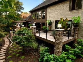 Build A Retractable Awning Outdoor Spaces Traditional Deck Cincinnati By