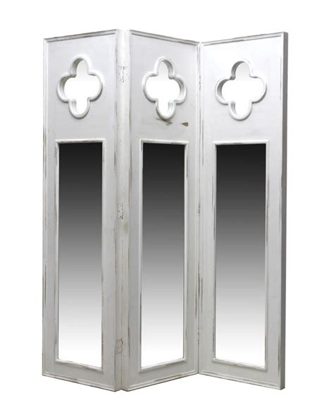 Quatrefoil Room Divider Painted Mirrored Quatrefoil Accented Room Divider Two Day Estates Auction Day Two