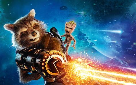 Rocket Guardians of the Galaxy Vol 2 4K 8K Wallpapers   HD