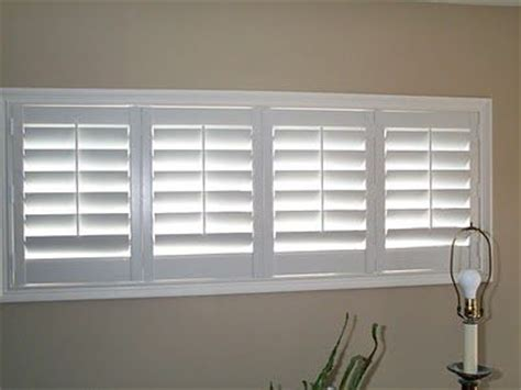 bi fold plantation shutters for the basement windows