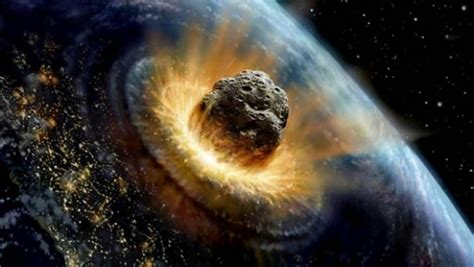simulation apocalypse caused by asteroids impact