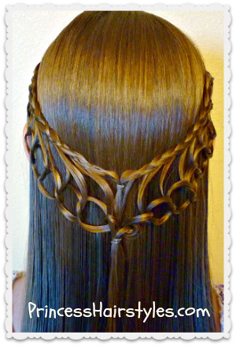 feather braiding technique make up