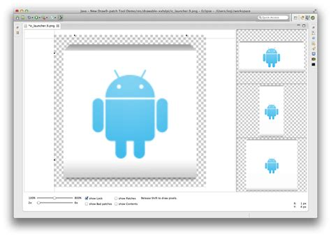 Drawing 9 Patch by ネタ帳 A B C 新しい Draw 9 Patch Tool を使ってみた