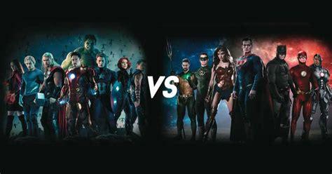 imagenes epicas de marvel marvel y dc comics libran una 233 pica batalla en el cine