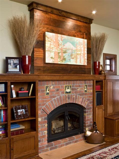 bungalow fireplace 1000 images about craftsman style fireplaces on pinterest