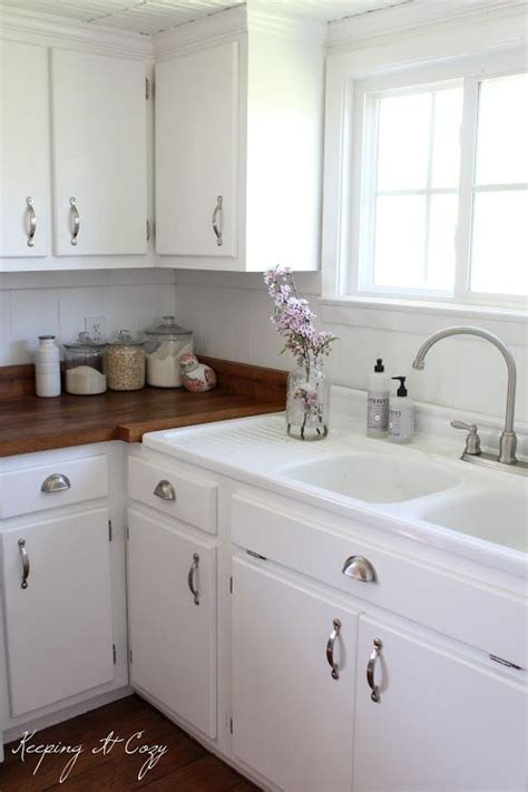 painted kitchen sink cabinets 1895 best country white images on pinterest farmhouse