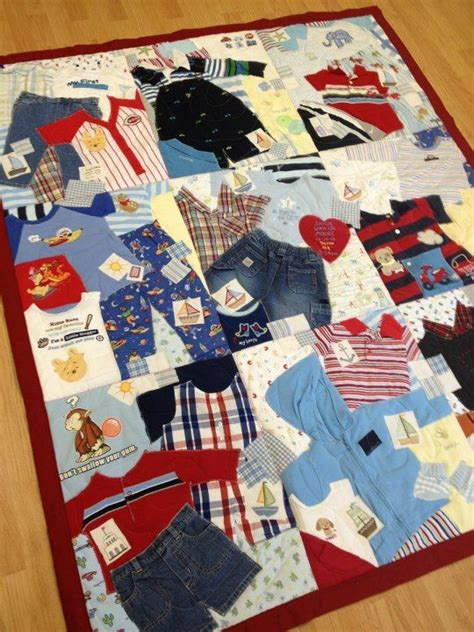 Quilt Clothing by 17 Best Ideas About Baby Memory Quilt On Baby
