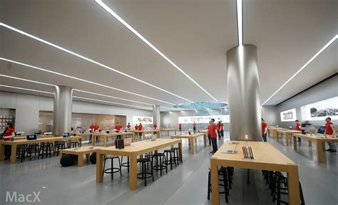 photos of apple s chongqing store opening tomorrow ahead