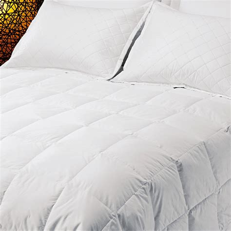 600 Fill Comforter by Inc Midweight Premium White Duck Comforter