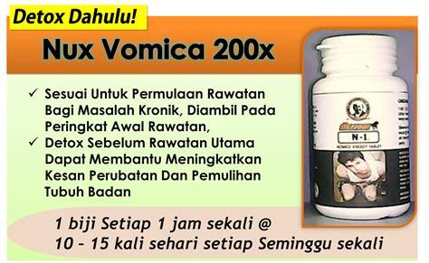 Nux Vomica And Detox Homeopathy by Azbudi Pusat Pakar Perubatan Homeopati Naturopati