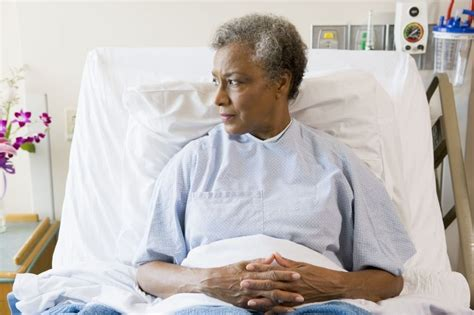 person in hospital bed the link between high blood glucose and high infection risk