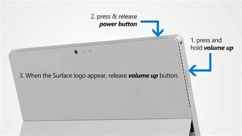 two button restart surface pro 3 how to configure surface pro 3 uefi bios settings
