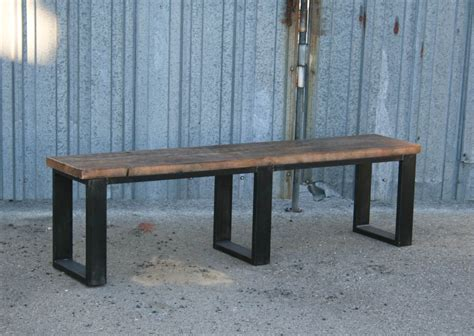 bench description combine 9 industrial furniture industrial bench