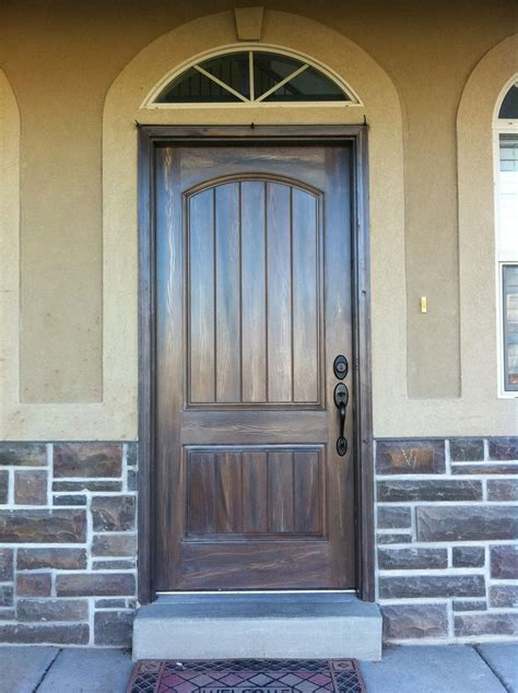 Exterior Doors Fiberglass Exterior Fiberglass Doors That Been Wood Grained Or Faux Finished To Match The Exterior