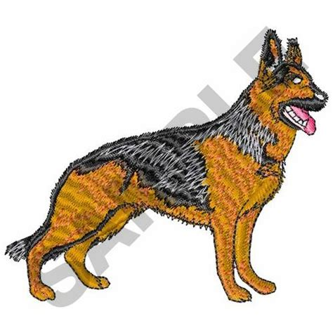 embroidery design german shepherd great notions embroidery design german shepherd dog 3 08