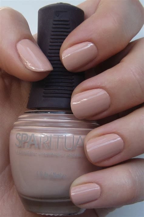 Sparituals Nail Lacquer by Sparitual Evolve Swatches Review Peace