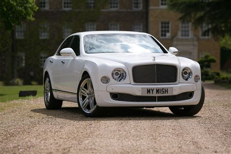 white bentley white bentley mulsanne wedding car hire