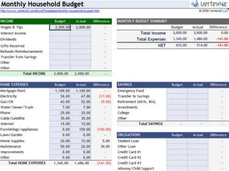 best 25 excel budget ideas on budget