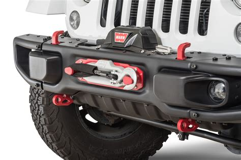 jeep rubicon winch bumper maximus 3 0400 014pv winch mount kit for 13 17 jeep