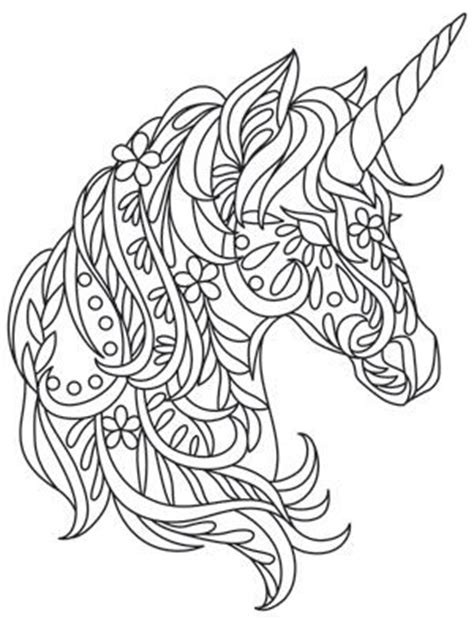 unicorn mandala coloring pages coloring awesome and unique on pinterest