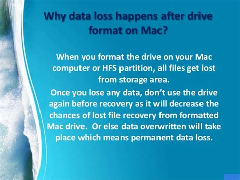 Formatted Hard Drive Mac Recovery | recover files after formatting hard drive on mac computer
