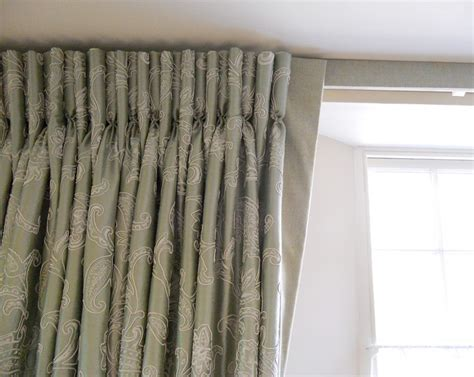 goblet pleat curtains curtains with goblet pleats on track with covered fascia