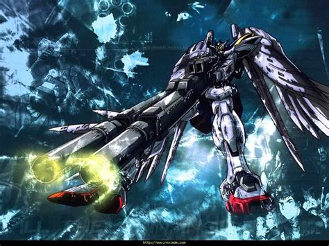 wallpaper laptop gundam gundam wing zero wallpapers wallpaper cave