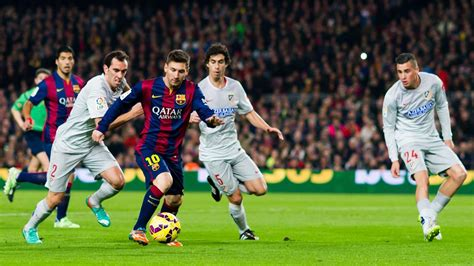 barcelona match today lionel messi inspires barcelona to win over atletico