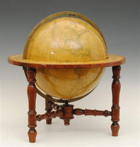 Globe Table L Cruncley Table Globe At 1stdibs