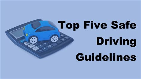 7 Tips For Being A Safe Driver On The Road by 2017 Driving Safety Tips Top Five Safe Driving