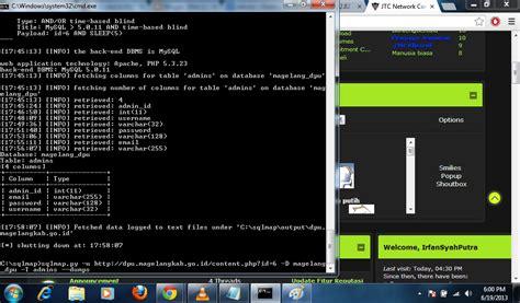 tutorial deface menggunakan sqlmap tutorial sqlmap untuk windows 7