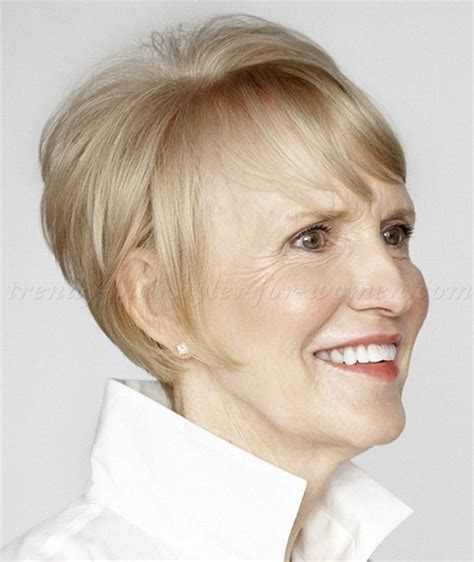 short hair styles over 60