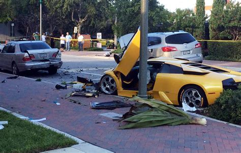 Fatal Lamborghini Crash State To Study Crossing For